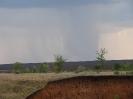 Приближающийся дождь. Река Янгиз