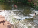 Водопады на реке Янгиз